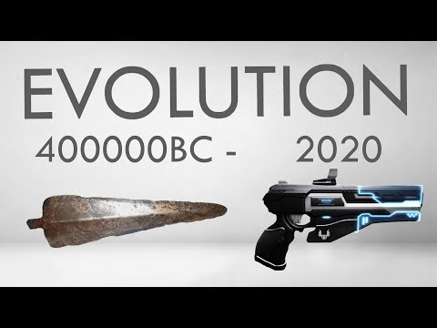 Weapons Evolution | 40,000BC - 2020