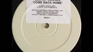 Secret Sounds - Come Back Home (Vocal Mix)