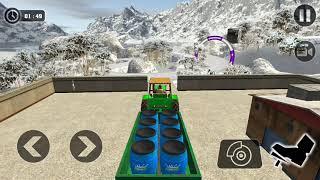 Tractor Cargo Transport Driving : Farming Simulator Android Game screenshot 5