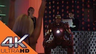 Вечеринка Тони Старка в Костюме Железного Человека ★ Железный Человек 2 (2010)