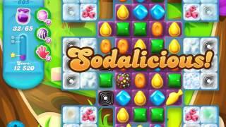 Candy Crush Soda Saga Level 605 (4th version)