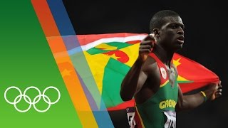 Kirani James wins Grenada's first Olympic medal | Epic Olympic Moments