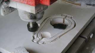 ตัดพลาสวูดด้วย ซีเอ็นซี ทำหัดดูดฝุ่น // CNC Cutting Plaswood