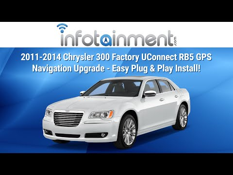 2011-2014 Chrysler 300 Factory UConnect RB5 GPS Navigation Upgrade - Easy Plug & Play Install!