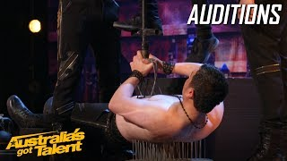 Scary Azeri Brothers' TERRIFYING Performance | Auditions | Australia's Got Talent