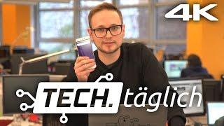 """Galaxy S7 """"bestes Smartphone"""", iOS 9.3 macht Probleme & ein HTC 10 Event – TECH.täglich 23.03.2016"""