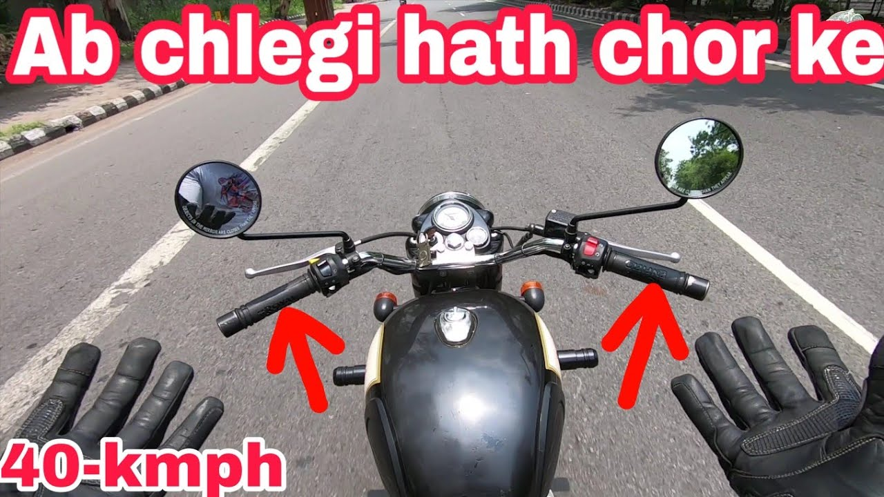 Bullet kyu nahi chalti hath chorke??😰  Royal Enfield   NCR Motorcycles  