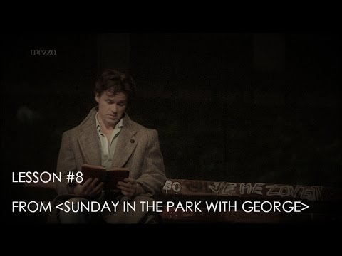 LESSON #8 Piano Karaoke -  Sunday in the Park with George