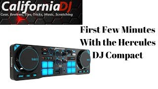 First Few Minutes With the Hercules DJ Compact