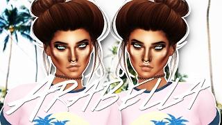 Sims 4: Arabella // Create A Sim [FULL CC LIST]