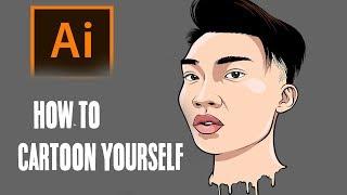 Kendinle Çizgi Film Nasıl Yapılır Adım /RiceGum Öğretici Tarafından adım ( ADOBE ILLUSTRATOR )