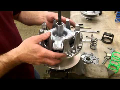Kawasaki Brute Force, Prairie, KFX, V-Force - EPI Clutch Kit Install