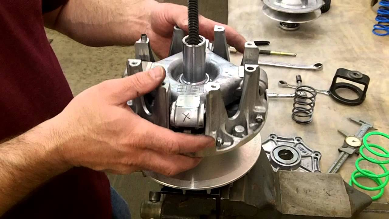 kawasaki brute force prairie kfx v force epi clutch kit install youtube [ 1280 x 720 Pixel ]