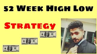 52 Week High Low - Intraday Strategy by Smart Trader of NSE Trading trick