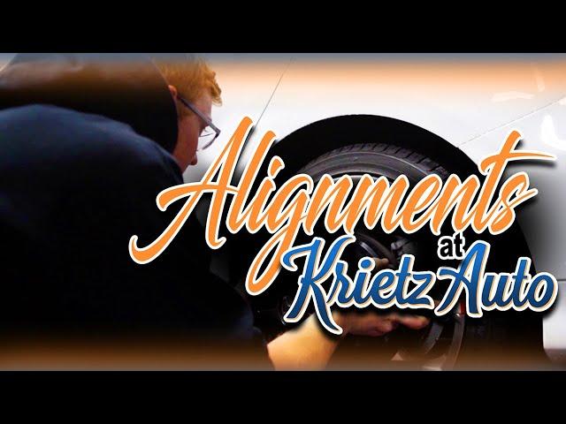 Alignments At Krietz Auto