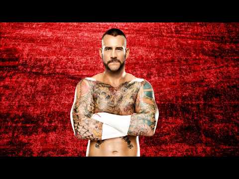 WWE: CM Punk Theme Song Cult Of Personality + Arena Effects