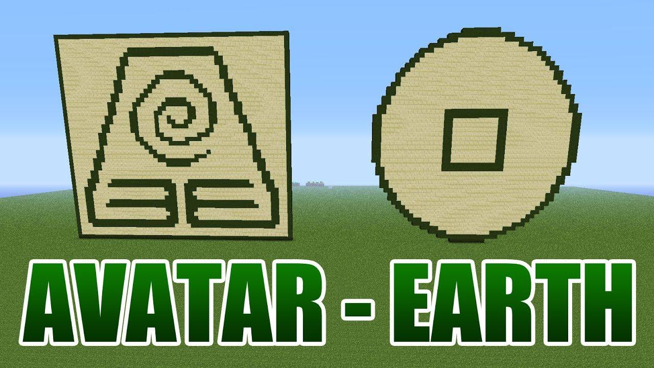 Avatar the last airbender earth pixel art minecraft youtube avatar the last airbender earth pixel art minecraft buycottarizona
