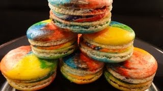 Rainbow French Macarons - With Yoyomax12
