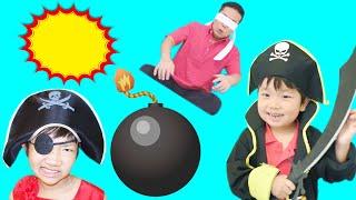 ★パパも海賊もびっくり!「ドッキリ爆弾」★Candid bomb★ thumbnail