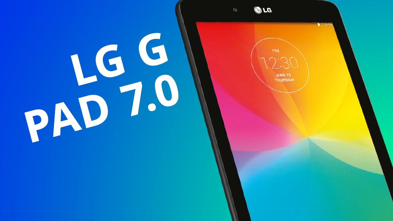 e06b2c778 LG G Pad 7.0  um tablet básico