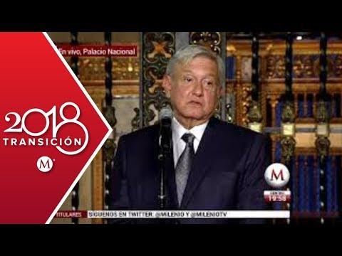 Mensaje de AMLO tras su segunda reunión con Peña Nieto