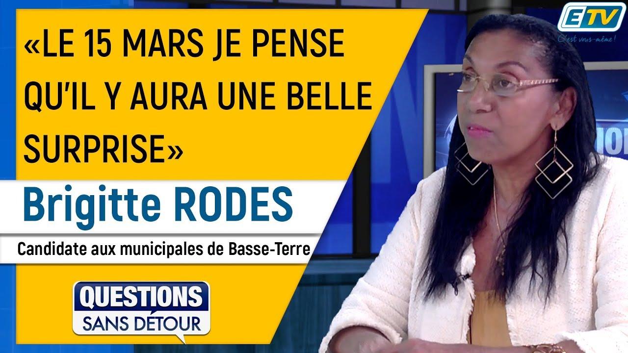 Questions Sans Détour avec Brigitte RODES