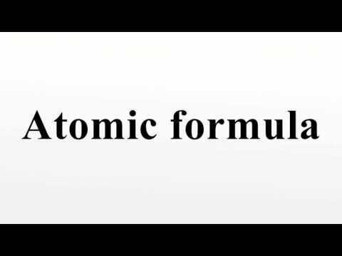Atomic formula