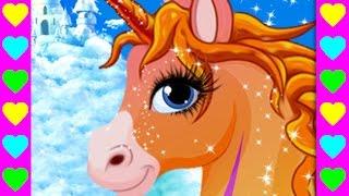 Мультик про пони. Ухаживаем за маленькой лошадкой. Интересные мультфильмы для детей.