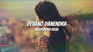 Devano Danendra - Menyimpan rasa (Cover by Belinda Permata) liryk 🎵