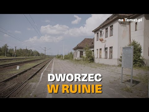 Dworzec w ruinie – jak Beata Szydło obiecała i zapomniała
