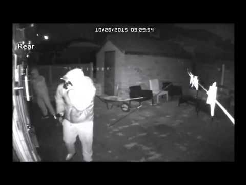 Shock CCTV shows Swinton burglars on the prowl