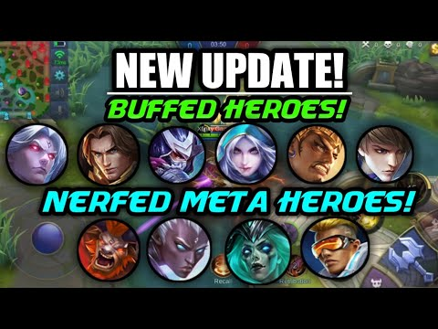 BEST UPDATE EVER! META HEROES NERFED AND UPCOMING BUFFS EXPLAINED! NEW UPCOMING SPELLS!