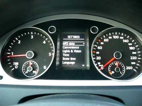 Volkswagen Passat BlueMotion 2 2009 Interior - YouTube