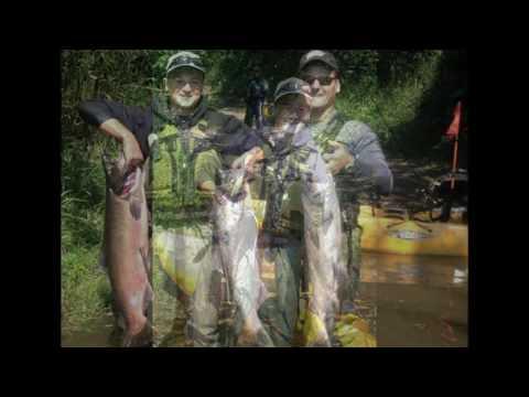 Kayak Fishing - Nehalem River Fall Chinook Salmon