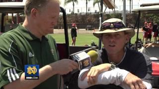Notre Dame Baseball - Future MLB Hall of Fame Craig Biggio BIG EAST Interview