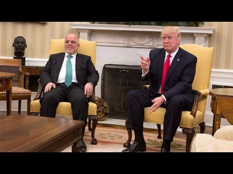 PM Abadi thanks Trump for removing Iraq from travel ban list