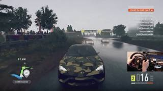Forza Horizon 2 Drift Off Suv- Urus (v8) Vs G Wagon (v12) W/wheel Cam
