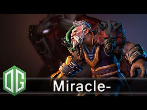 OG. Miracle- Lone Druid Gameplay - Ranked Match - OG Dota 2