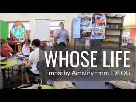 IDEO's Empathy Activity,