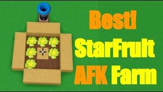 Best AFK Starfruit Seed Farm Method!?!? Roblox Skyblox