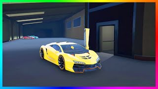 SECRET GARAGE IN GTA 5! - 25+ Car Garage With NEW Design, Multiple Entrances, Skylights & MORE!