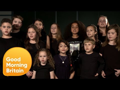 Grief Encounter Children's Choir for GMB's 1 Million Minutes | Good Morning Britain