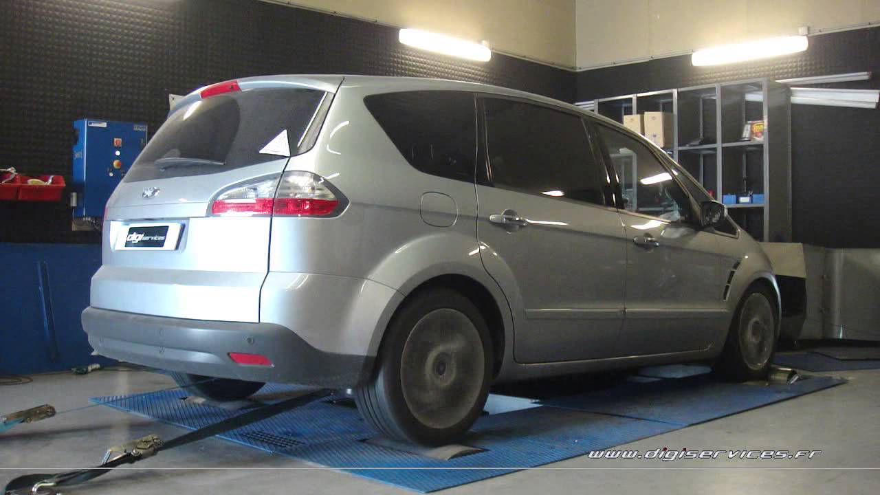 reprogrammation moteur ford smax tdci 136cv 175cv digiservices paris dyno youtube. Black Bedroom Furniture Sets. Home Design Ideas