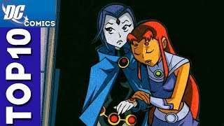 Top 10 Raven and Starfire Moments From Teen Titans