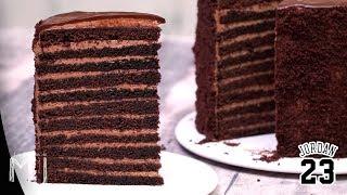 23 CAPAS DE CHOCOLATE | La tarta del restaurante de Michael Jordan