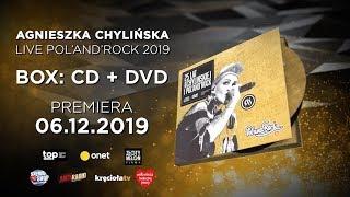 Agnieszka Chylińska z #polandrock2019 na DVD i CD! Premiera 6 grudnia!