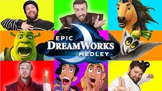 Epic Dreamworks Impressions Medley  - Peter Hollens ft. Brian Hull