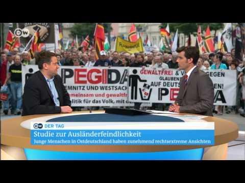 Fernseh-Interview mit Alexander Yendell über die Ergbenisse der Mitte-Studie 2016