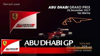 Abu Dhabi Grand Prix Preview   Scuderia Ferrari 2017