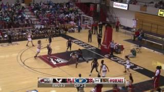 Highlights of Eastern Women's Basketball against Cal State Fullerton (Dec. 8).